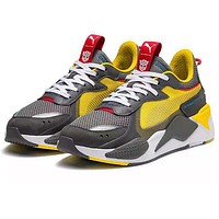 Hasbro x PUMA RS-X Transformers Woman Men Fashion Sneakers Sport Shoes
