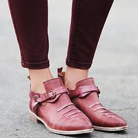 Free People Womens Crusader Ankle Boot