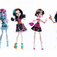 Classic Monster toys art class Original Doll Robecca Steam Abbey Bominable Draculaura Skelita Calaveras high quality Toy to Girl