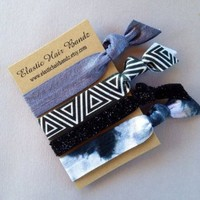 The Lindsay Hair Tie Ponytail Holder Collection by Elastic Hair Bandz