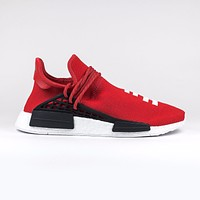 100% Authentic BNIB Mens Adidas NMD RED Human Race HU Pharrell Boost Trainers