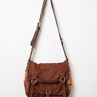 Free People Womens Florence Leather Messenger