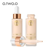 O.TWO.O Full Cover Liquid Foundation Makeup Face Base Long Lasting Flawless Concealer Primer BB Cream Make Up Cosmetics 15ml