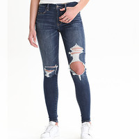 AEO Denim X Hi-Rise Jegging, Midnight Dreamer