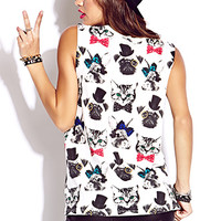 Snazzy Animal Muscle Tee