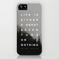 Adventure or Nothing iPhone & iPod Case by Zeke Tucker