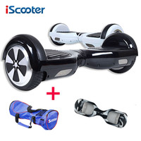 iScooter hoverboard Electric Skateboard steering-wheel 2 with Smart wheel Self Balancing and  bag