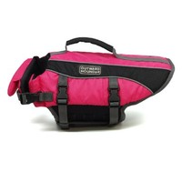 Kyjen 2523 Dog Life Jacket Quick Release Easy-Fit Adjustable Dog Life Preserver, Small, Pink:Amazon:Pet Supplies