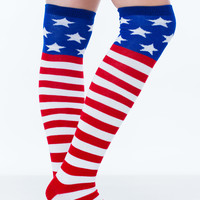 Got Love Patriotic Knee-High Socks