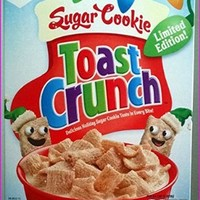 Sugar Cookie Toast Crunch Limited Edition
