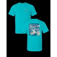 Sassy Frass Collection Advice from a Mermaid Bright T Shirt