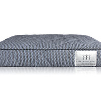 Brentwood Home 4-Inch Quilted Gel Memory Foam Orthopedic Pet Bed, 100% Made in USA, Waterproof, CertiPUR-US, Quilted Blue Fog