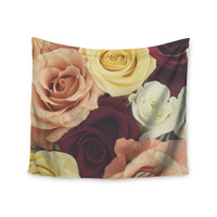 """Libertad Leal """"Vintage Roses"""" Wall Tapestry"""