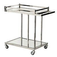 Silver Bar Cart | Eichholtz Beverly Hills