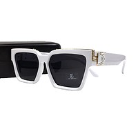 White LV LOUIS VUITTON Eyeglasses Glasses Sunglasses