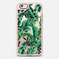 Tropical Glam Banana Leaf iPhone 6s case by nicoletteselman | Casetify