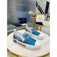 dior fashion men womens casual running sport shoes sneakers slipper sandals high heels shoes 334