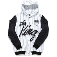 THE KING RICH HOODIE JACKET / WHITE