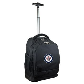 Winnipeg Jets Wheeled Premium Backpack