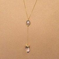 Metamorphosis Gemstone Necklace-Gold Filled
