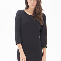 LOVE 21 Long-Sleeved Sheath Dress