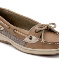 Sperry Top-Sider Angelfish Slip-On Boat Shoe LinenOat, Size 6M  Women's Shoes