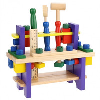Wooden Toys Baby Kids Puzzle Wooden Toys Combine Tools Wooden Toys