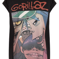 Gorillaz Tee By And Finally - New In This Week - Topshop