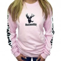 Longsleeve - Light Pink with White LogoPurchase