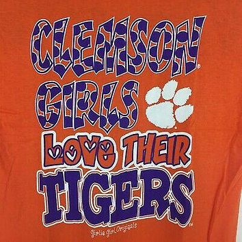 South Carolina Clemson Girls Love Their Tigers T-Shirt