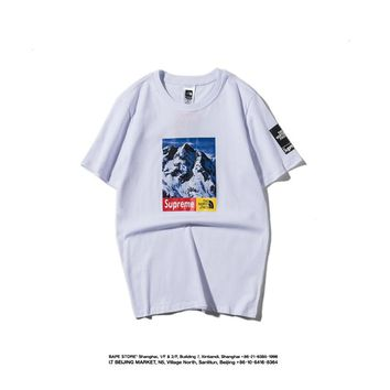 Cheap Women's and men's supreme t shirt for sale 85902898_0025