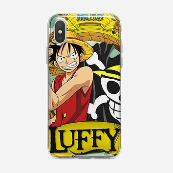 Straw Hat Pirate Captain iPhone XS Case