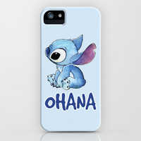 Stitch iPhone & iPod Case by Joan Pons