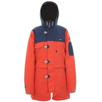 SugaPoint Womens Mela Snow Jacket (Navy/Persimmon) Snow Snow Jackets Womens Jackets at 7TWENTY Boardshop, Inc