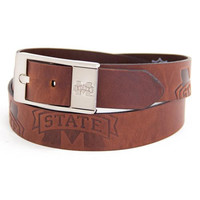 Mississippi State Bulldogs NCAA Brandish Leather Belt Size 40