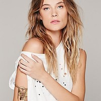 Free People Womens Skinny Tie Upper Arm Cuff -