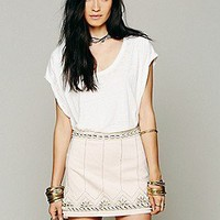 Free People  Gilliam Bay Embroidered Mini at Free People Clothing Boutique