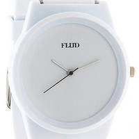 Flud Watches Watch Pantone in White