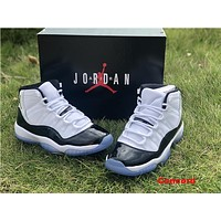 Air Jordan 11 Retro AJ11 Concord, Gym Red, Space Jam, Bred, Black Gamma Basketball Shoes