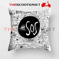 """5SOS Liryc Quote - Pillow Cover 18"""" x 18"""" - One Side"""