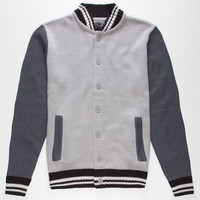 Retrofit Kendall Mens Sweater Grey  In Sizes