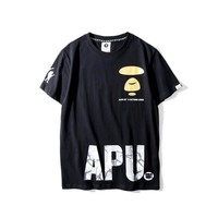 'BAPE'Couple Short Sleeve Summer Hip-hop T-shirts [10425656775]