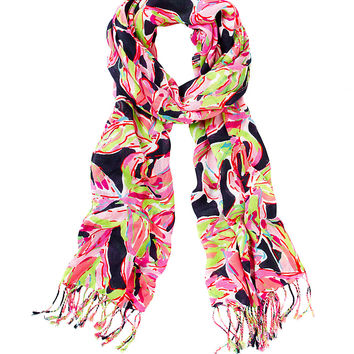 Lilly Pulitzer Printed Lilly Scarf - In The Vias