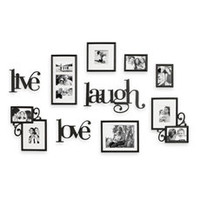 Wall Verbs 10-Piece Live Laugh Love Wall Collection