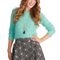 ModCloth Short Length Full How Glow Can You Go? Skirt