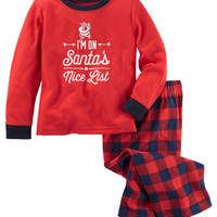2-Piece Nice List PJs