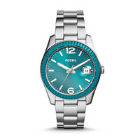 Perfect Boyfriend Three-Hand Date Stainless Steel Watch