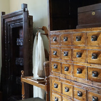 Spring Sale 10% Off Apothecary Cabinet // 48 Drawers // Pine