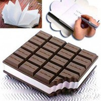 INFMETRY:: Chocolate Notepad - Office Supplies - Home&Decor