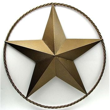 """30"""" Gold Star with Ring AS IS"""